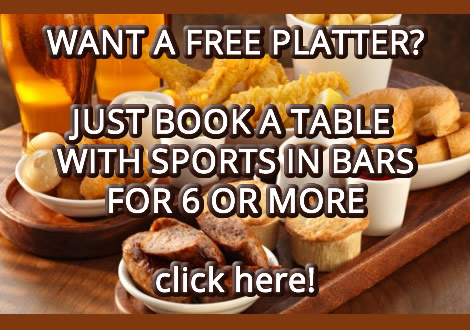 watch sport free platter book a table