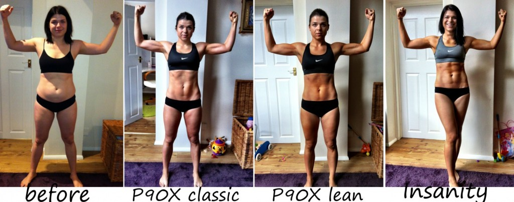 p90x p90x2 Insanity transformation